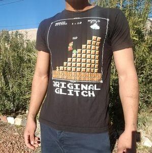 Super Mario Original Glitch Graphic Tee